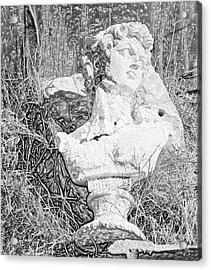 Decay In The Hay Acrylic Print by Joe Jake Pratt