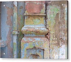 Acrylic Print featuring the photograph Decay by Jean luc Comperat