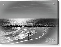December At The Jersey Shore Acrylic Print