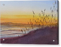 December Dawn - Kitty Hawk Acrylic Print