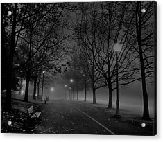 December Morning In Riverfront Park - Spokane Washington Acrylic Print