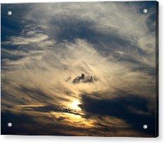 December Sky Acrylic Print by Ana Villaronga