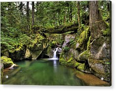 Deception Creek Acrylic Print
