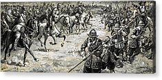 Decisive Battles  Where King Charles Lost His Crown Acrylic Print by CL Doughty
