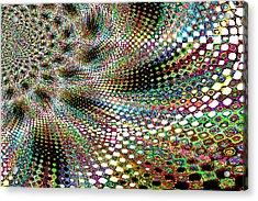 Deco A Go Go Acrylic Print by Maria  Wall