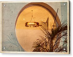 Acrylic Print featuring the photograph Deco Circles by Melinda Ledsome