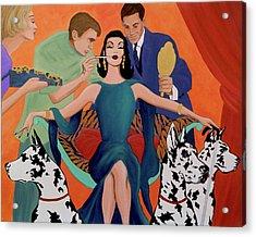 Deco Diva Acrylic Print