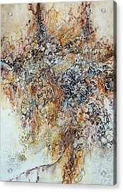 Acrylic Print featuring the painting Decomposition  by Joanne Smoley