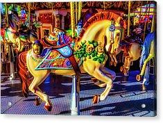 Decorated Carrasoul Horse Acrylic Print