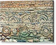 decorative architecture photographs - Korean Wall Acrylic Print