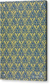 Decorative Pattern With The German Coat Of Arms Acrylic Print