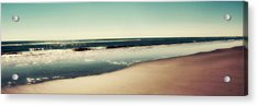 Deep Blue Sea Panoramic Acrylic Print