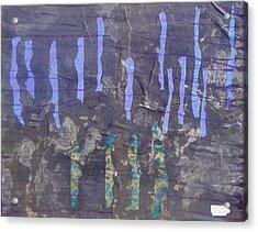 Deep Calls To Deep Acrylic Print by Lisa  Graham