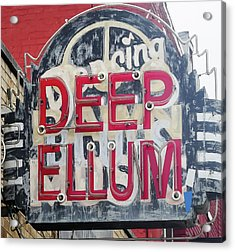 Deep Ellum Dallas Texas Acrylic Print