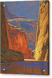 Deep In The Canyon Acrylic Print by Cody DeLong
