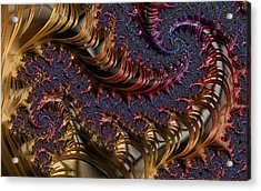 Deep In The Spirals Acrylic Print