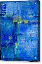 Deep Lagoon Acrylic Print