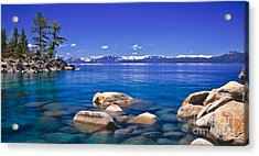 Deep Looks Panorama Acrylic Print