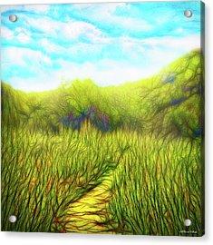 Deep Meadow Tranquility Acrylic Print