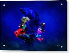 Deep Oceans Acrylic Print