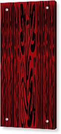 Deep Red Abstract Acrylic Print by Aimee L Maher Photography and Art Visit ALMGallerydotcom