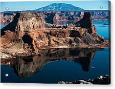 Deep Reflections In Lake Powell Acrylic Print