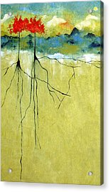 Deep Roots Acrylic Print by Ruth Palmer