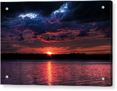 Acrylic Print featuring the photograph Deep Sky by Michaela Preston