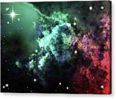 Deep Space Clouds I Acrylic Print