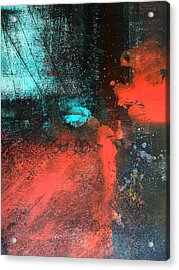 Deep Space Acrylic Print by Nancy Merkle
