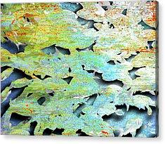 Acrylic Print featuring the mixed media Deep by Tony Rubino