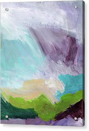 Deepest Breath- Abstract Art By Linda Woods Acrylic Print