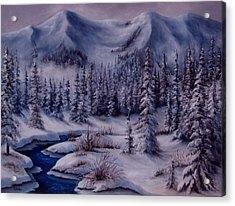 Deer Creek Acrylic Print
