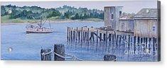 Deer Island  Original...sold Acrylic Print
