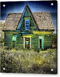 Deer Isle Haunted House Acrylic Print