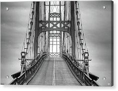 Deer Isle Sedgwick Bridge Acrylic Print