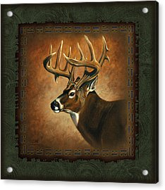 Deer Lodge Acrylic Print by JQ Licensing