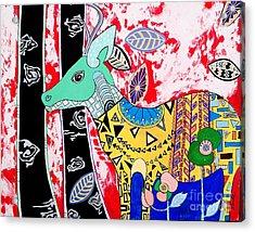 Deer Seeker Acrylic Print by Amy Sorrell