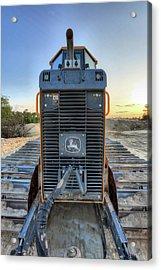 Deere Heavy Equipment  Acrylic Print by JC Findley