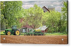 Deere On The Farm Acrylic Print