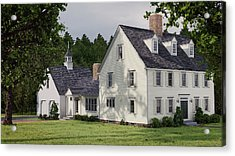 Deerfield Colonial House Acrylic Print