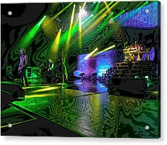 Def Leppard At Saratoga Springs 3 Acrylic Print