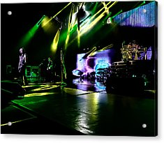 Def Leppard At Saratoga Springs 4 Acrylic Print by David Patterson