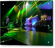 Def Leppard At Saratoga Springs Acrylic Print by David Patterson
