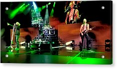 Def Leppard On Stage Acrylic Print
