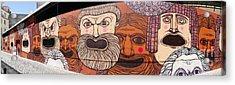 Defiant Graffitti Acrylic Print