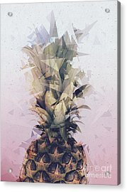 Defragmented Pineapple Acrylic Print