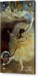 Degas: Arabesque, 1876-77 Acrylic Print