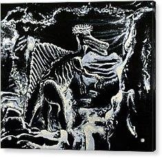 Deinos Sauros    Acrylic Print