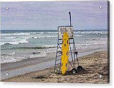 Del Mar Lifeguard Tower Acrylic Print